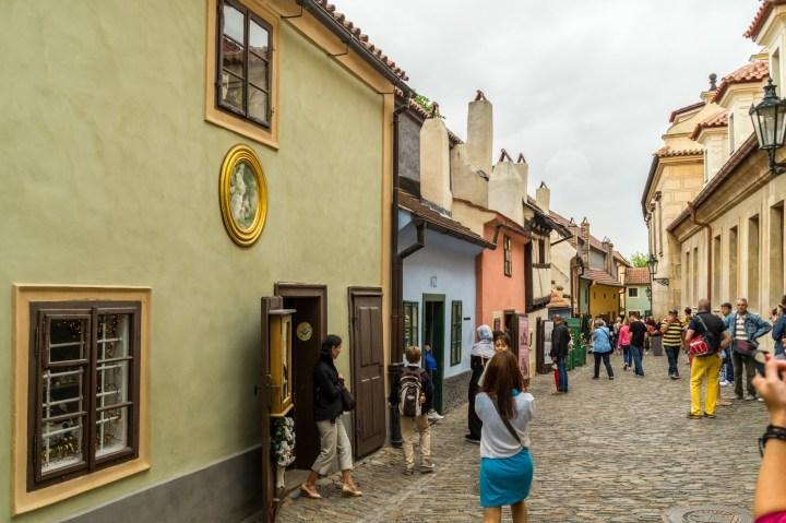Praga - Złota Uliczka