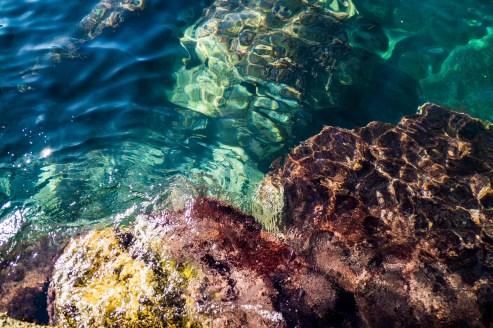 Cinque Terre - czysta woda i kolory morza