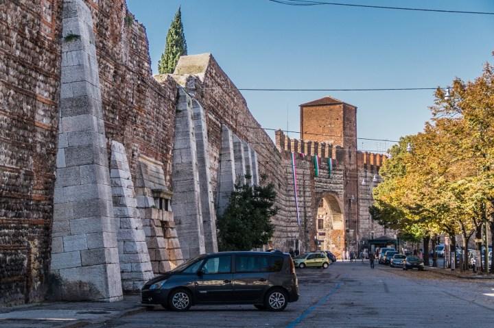 Werona - Mury miejskie