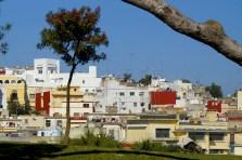 Tanger - widok na miasto