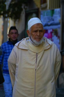 Tanger - mieszkaniec miasta
