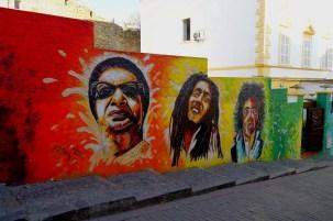 Tanger - sztuka uliczna