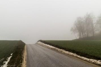 Główny Szlak Świętokrzyski - i znowu asfalt