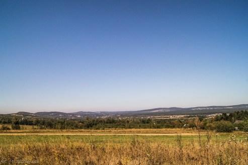 Główny Szlak Świętokrzyski - widoki ze szlaku