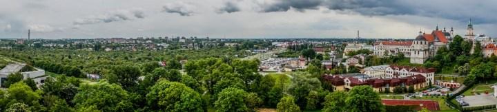 panorama miasta Lublin