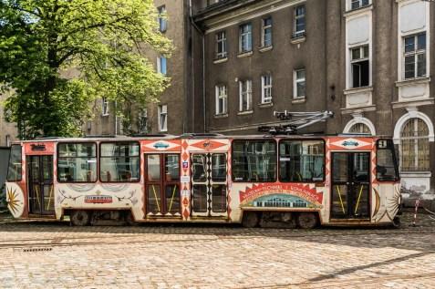 stary wagon tramwajowy