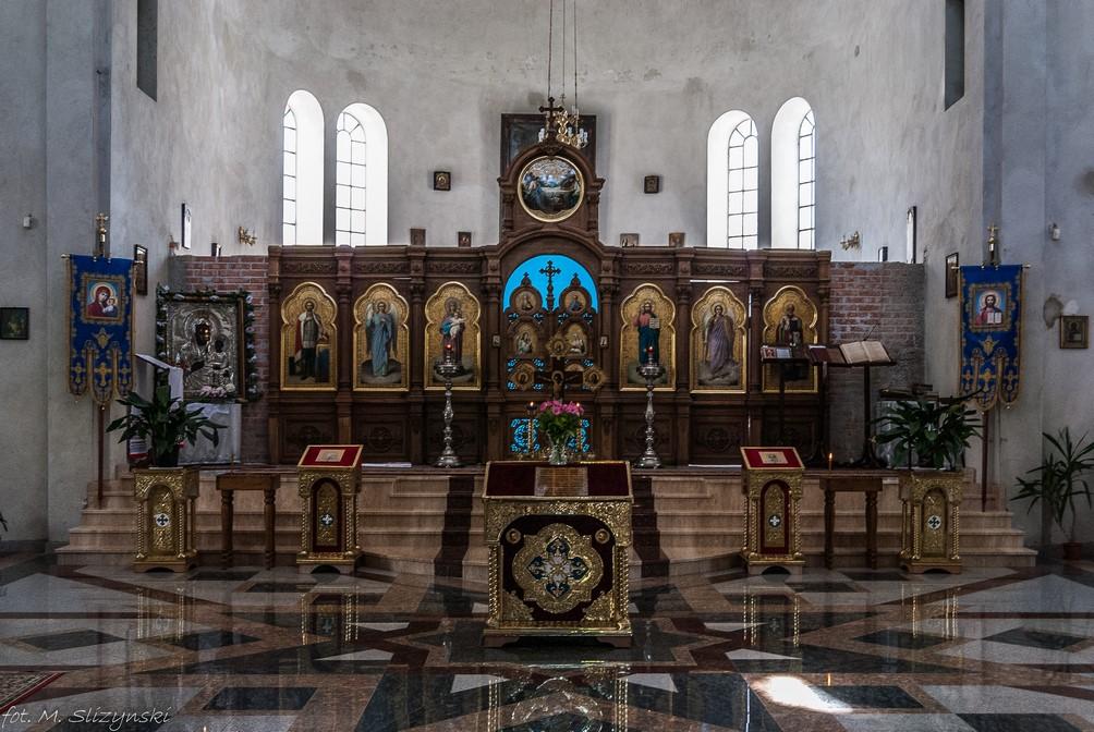 Częstochowa - Cerkiew Częstochowskiej Ikony Matki Bożej ołtarz