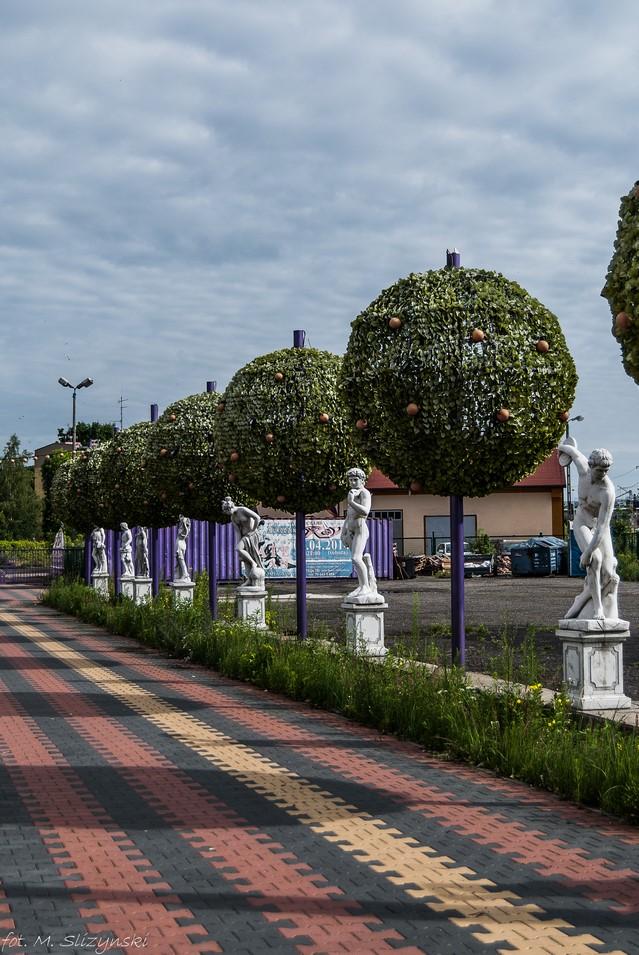 częstochowa - aleja rzeźby