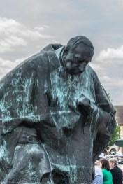 Częstochowa - pomniki przed klasztorem