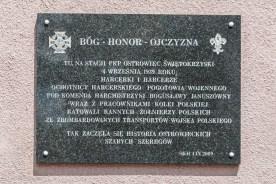 tablica pamiatkowa bóg honor ojczyzna