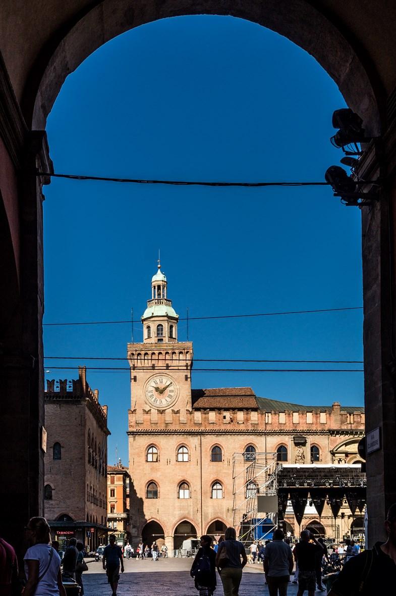 Bolonia - ratusz Palazzo del Comune