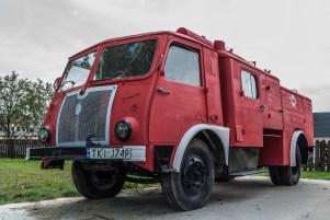 zabytkowy wóz straży pożarnej