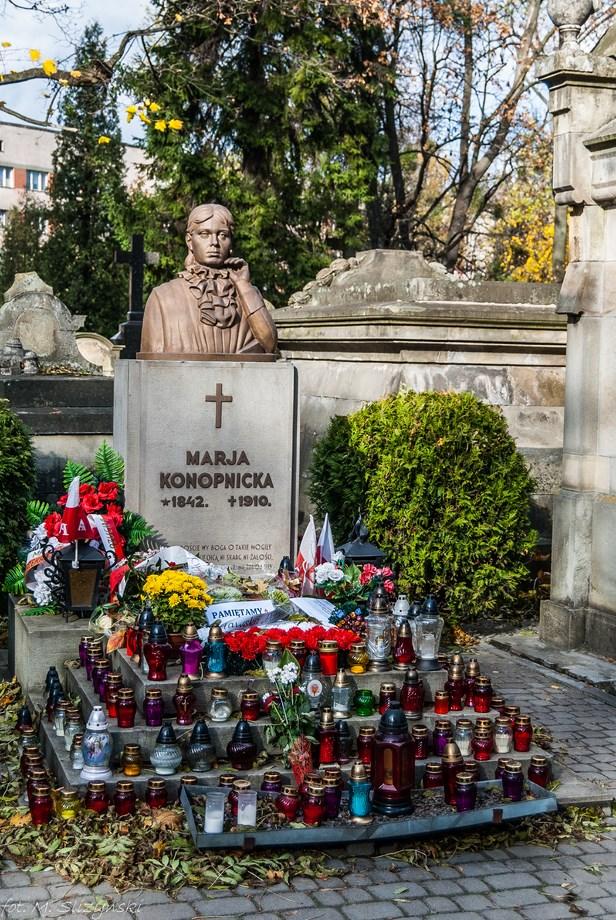 Cmentarz Łyczakowski - Polskie groby