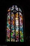 okno witrażowe w kościele