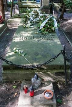 stare powązki - moniuszko grób