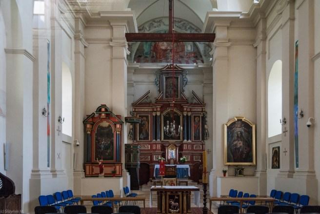 Kazimierz Dolny - kosciół św. Anny