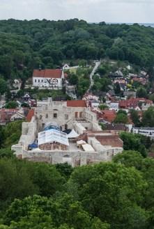 Kazimierz Dolny - widok ze wzgórza zamkowego