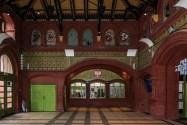 atrakcje malborka - zabytkowy dworzec kolejowy