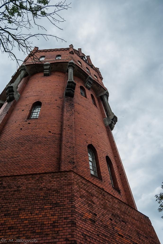 Malbork - wieża ciśnień