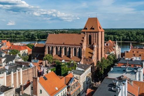 Toruń - widok z wieży ratuszowej