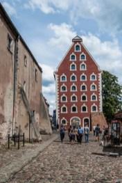 Toruń - spichlerz miejski