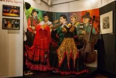 kolorowe cygańskie sukienki Muzeum Etnograficzne w tarnowie
