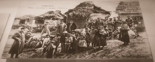 Obóz cygański 1914-1915 wojna Muzeum Etnograficzne