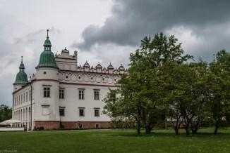 zamek - baranów sandomierski