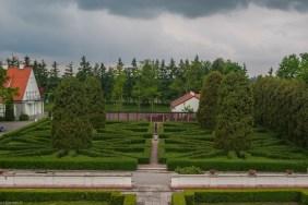 ogrody zamkowe widok - baranów sandomierski