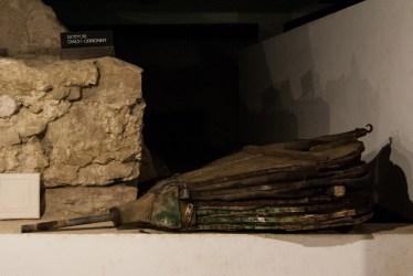 Wystawa w podziemiach zamku
