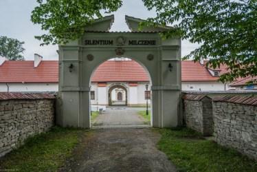 brama wjazdowa murowana