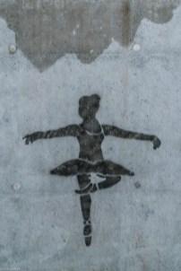 żywiec - Graffiti baletnica