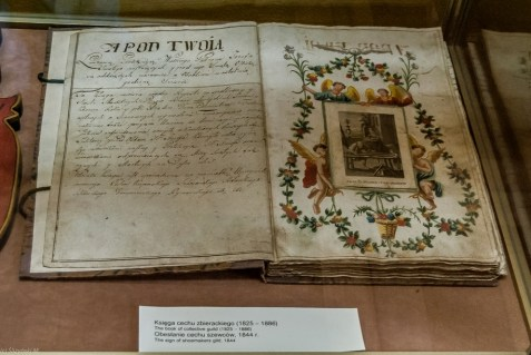 żywiec - muzeum miejskie stary zamek księga