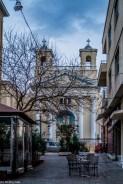 kościoły - dzień w Pireusie
