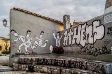 Ateny - street art