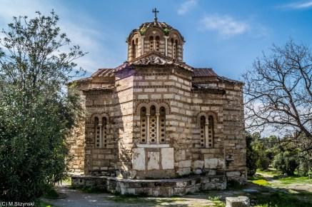 Agora Grecka - Kościół Świętych Apostołów