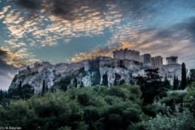 Ateny - wzgórze nad miastem
