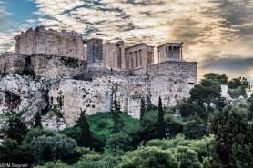 Ateny - droga na Akropol
