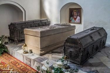 Sarkofag Eryka Pomorskiego w Kościele pw. Matki Boskiej Częstochowskiej - darłowo