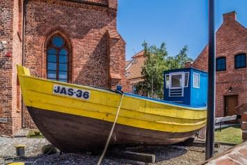 półwysep helski - kutry Muzeum Rybołówstwa