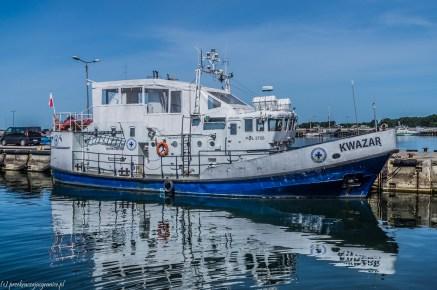 półwysep helski - Kuter Pomorskiego WOPR
