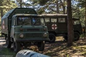 półwysep helski - Muzeum Obrony Wybrzeża samochody