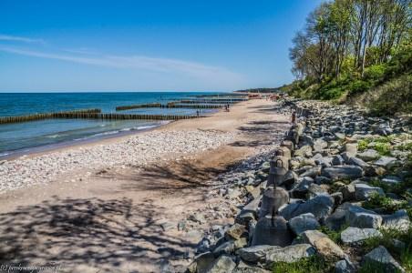 bałtycka plaża w jarosławcu