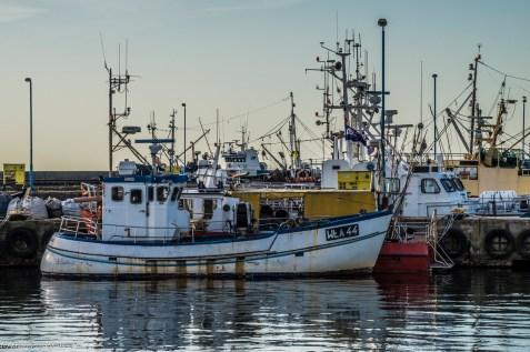 półwysep helski - kutry rybackie władysławowo