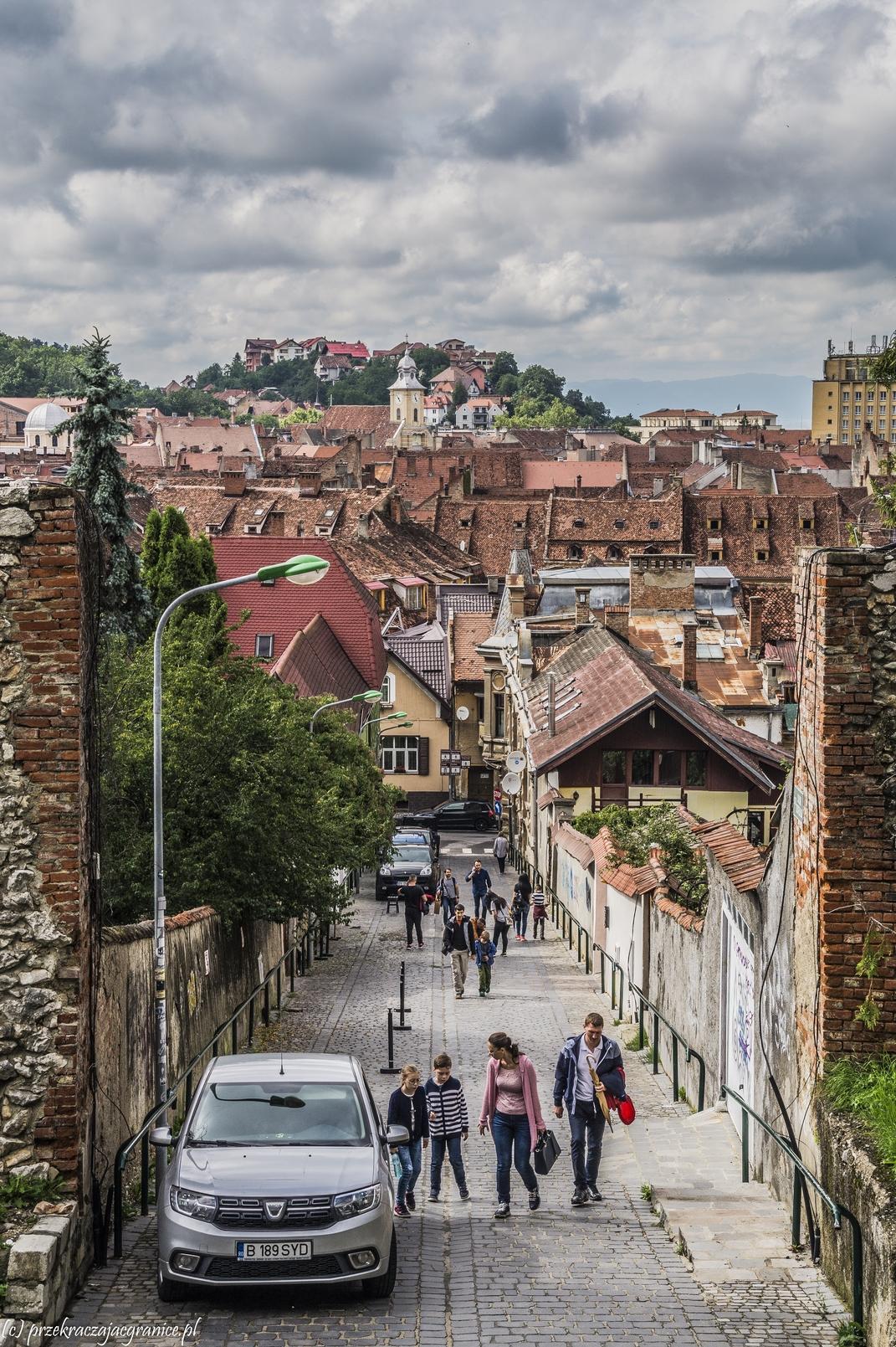 braszów - ulice w rumunii