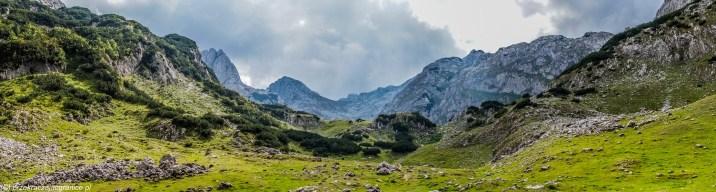 trekking panorama - góry durmitor