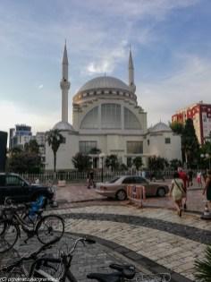 Meczet Al-Zamil szkodra - granicy albanii i czarnogóry