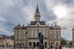 nowy sad ratusz - serbia