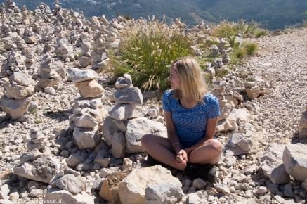 Renia na szczycie Jezerski Vrh