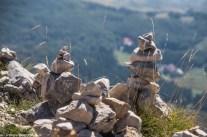 Piramidki z kamieni - Góry Lovcen